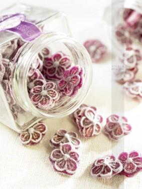 Bonbons à la violette PHOTOGRAPHE CULINAIRE