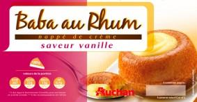 photo pack culinaire Baba au Rhum Auchan