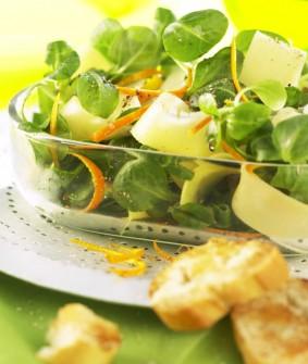 salade mâche et parmesan RECCETTE