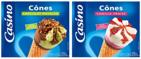 Packaging Glaces CASINO par Jean-Michel renaudin